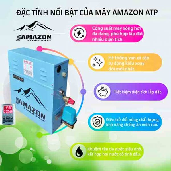 May xong hoi uot Amazon ATP 12KW